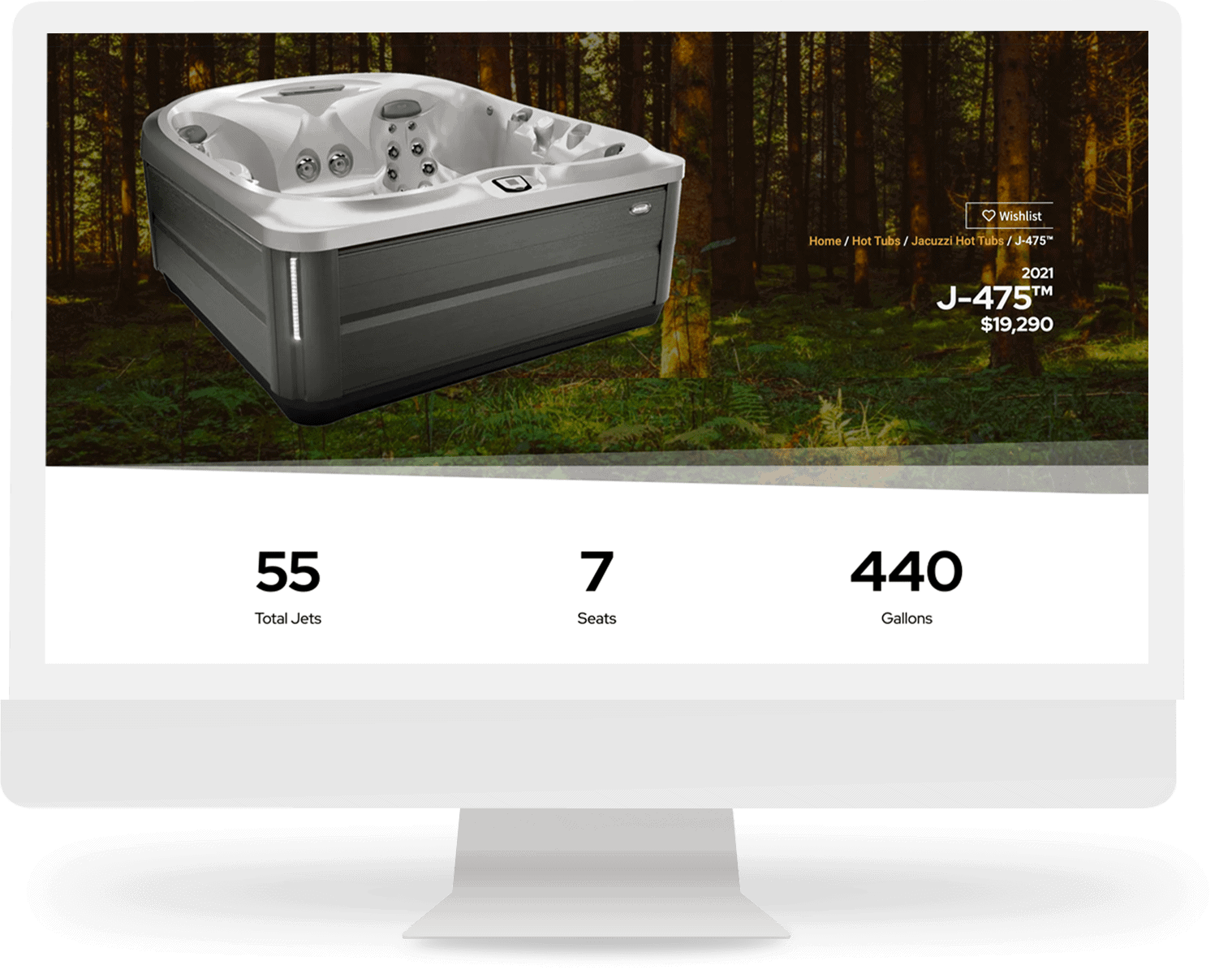 hot tub model custom