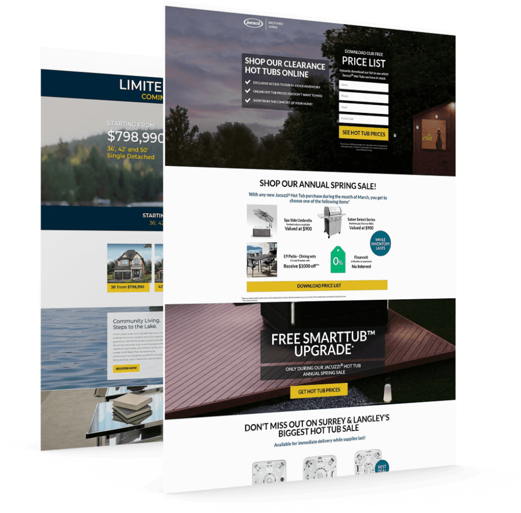 landing page campaigns