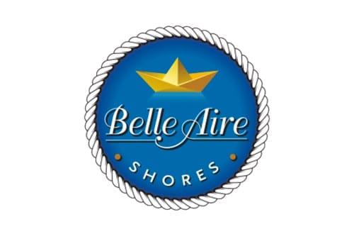 belle aire shores logo