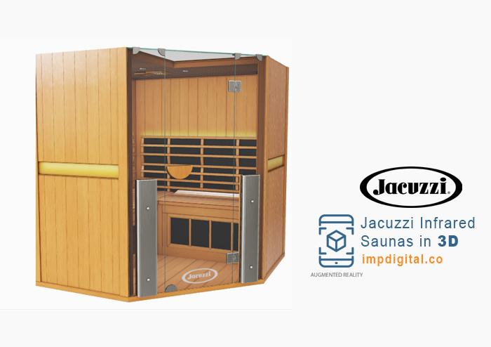 Jacuzzi Infrared Saunas in 3D by IMP Digital - Ontario #1 Hot Tubs & Spas Websites Developers