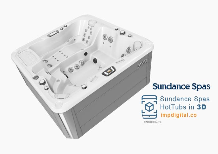 Sundance Spas in 3D by IMP Digital - Ontario #1 Hot Tubs & Spas Websites Developers
